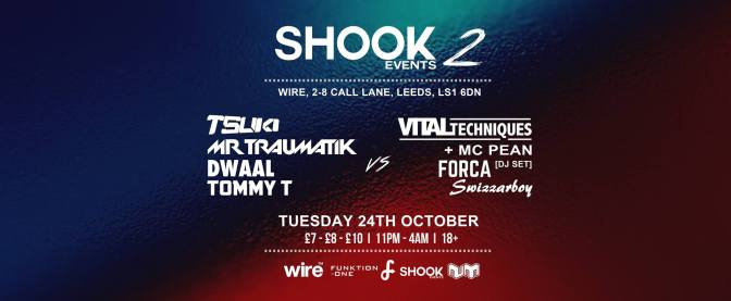 Shook Events 2 is now sold out